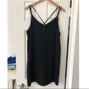 Topshop black dress - Size 10